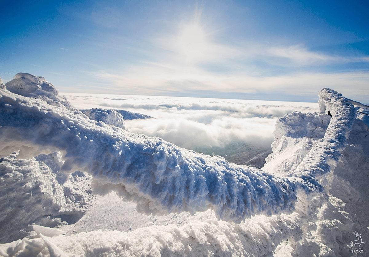 Łańcuchy na Śnieżce