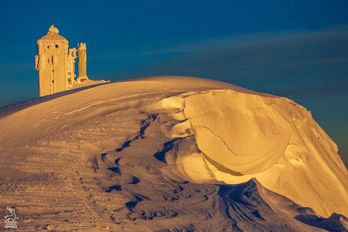 Śniezne Kotły zimą