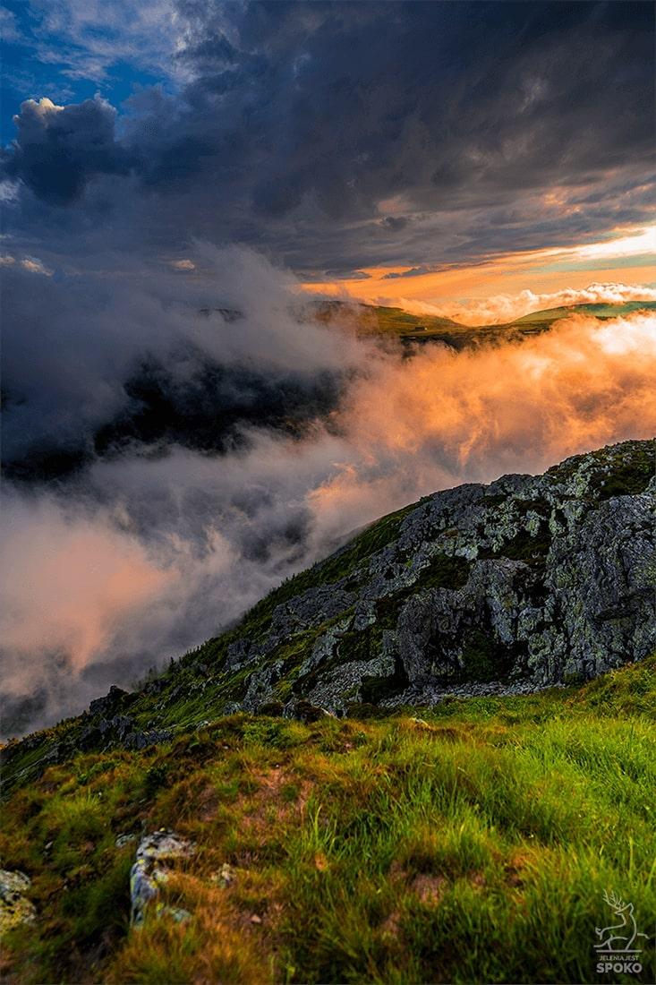 Taniec chmur z wiatrem