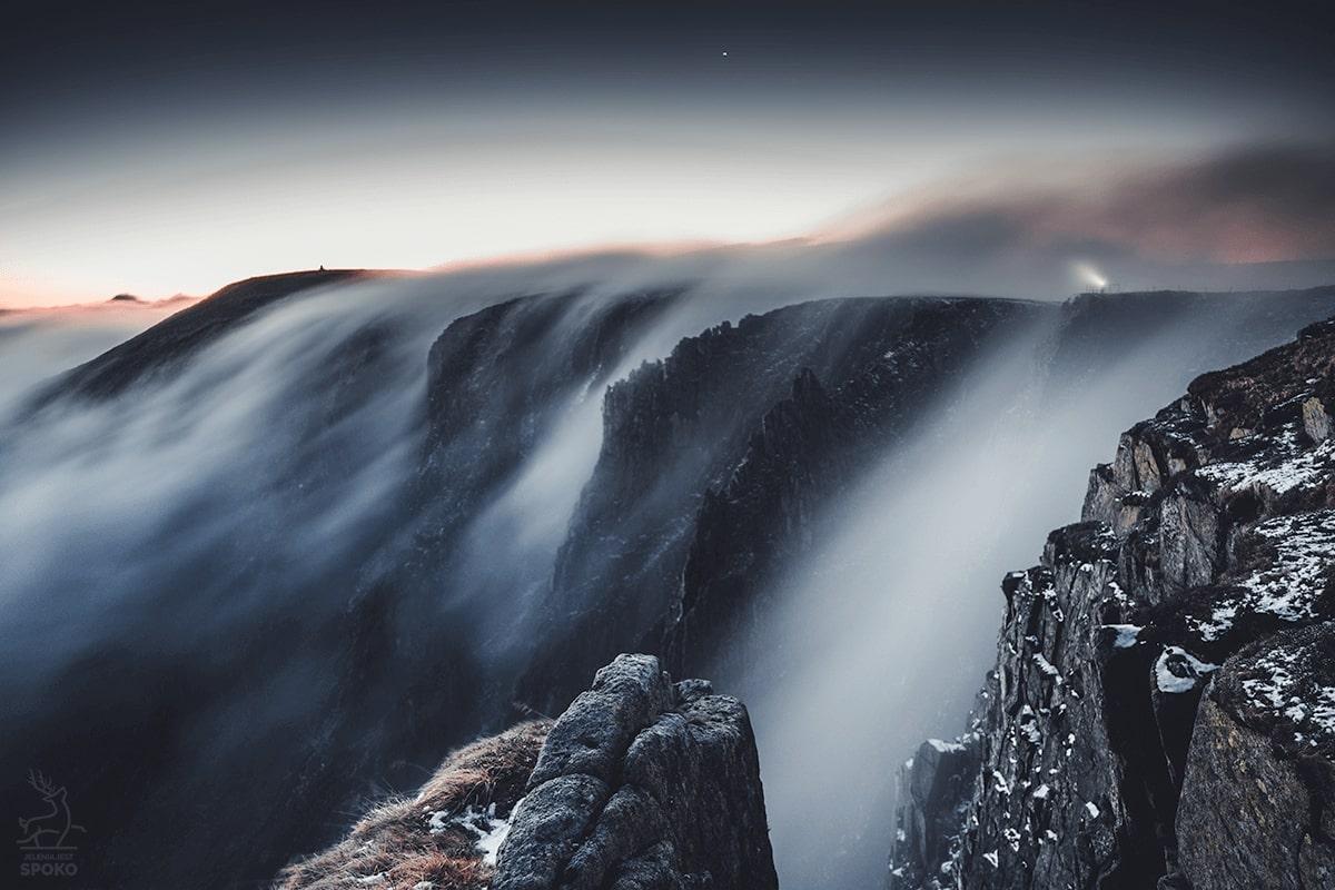 Mgielny Wodospad