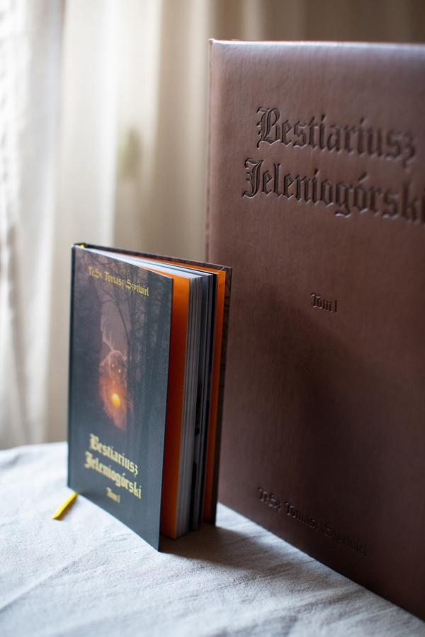 Bestiariusz Jeleniogórski wydanie standardowe vs kolekcjonerskie
