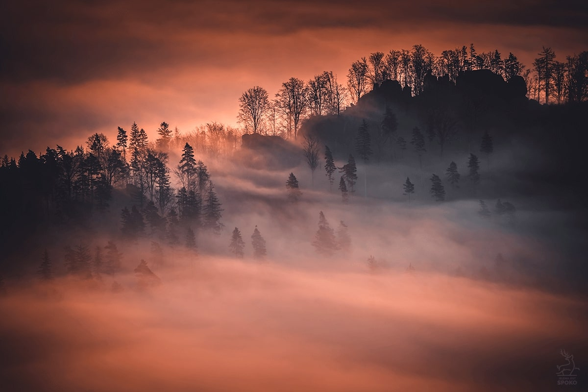 Płomienne wzgórza