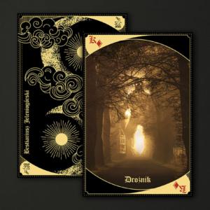 Karty do gry z wizerunkami Bestii - Bestiariusz Jeleniogórski Tom III