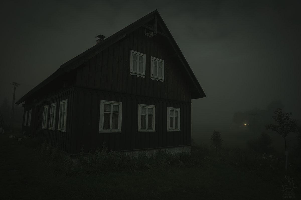 Jizerka nocą
